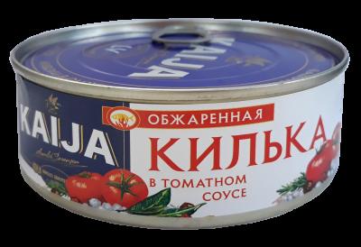 Килька обжаренная в томатном соусе Kaija 240 г (4751007732284)