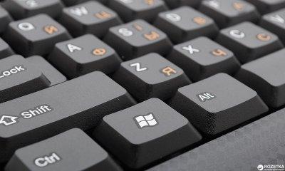 Клавіатура дротова Real-El Standard 500 PS/2