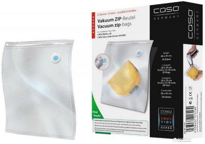 Пакеты для вакуумирования CASO Zip-Beutel 26x35 см