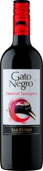 Вино Gato Negro Cabernet Sauvignon красное сухое 0.75 л 13% (7804300010638)