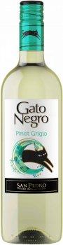 Вино Gato Negro Pinot Grigio белое сухое 0.75 л 12.5% (7798141874965_7804300151034)