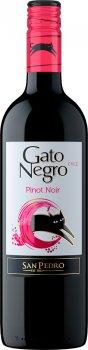 Вино Gato Negro Pinot Noir красное сухое 0.75 л 13.9% (7804300137366)