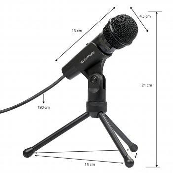 Микрофон Promate Tweeter-9 Black