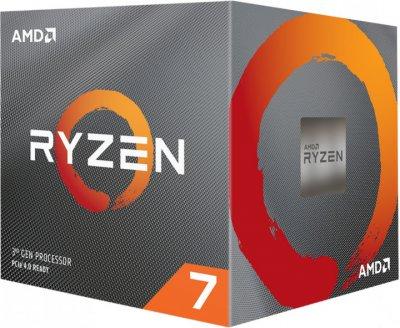 Процесор CPU AMD 8C/16T Ryzen 7 3800X 3,9 GHz-4,5 GHz(Turbo)/32MB/105W (100-100000025BOX) sAM4 BOX