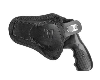 Поясная внутрибрючная кобура A-LINE для револьверов черная (С1)