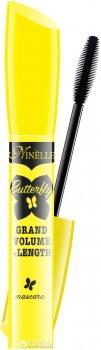 Тушь для ресниц Ninelle Butterfly Grand Volume & Length  Объем и удлинение 10 мл Черная (8435328109067)