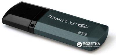 Team C153 USB 2.0 8GB Black (TC1538GB01)