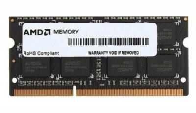 Пам'ять SoDDR3 4GB AMD 1600MHz PC3-12800 1.35V (R534G1601S1SL-UOBULK)