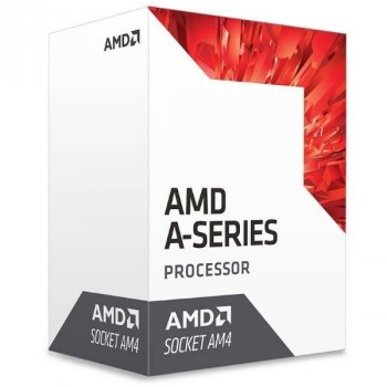 Процесор CPU AMD Bristol Ridge A8 4C/4T 9600 (3.1/3.4GHz, 2MB, 65W, AM4) Radeon R7 Series (AD9600AGABBOX) BOX