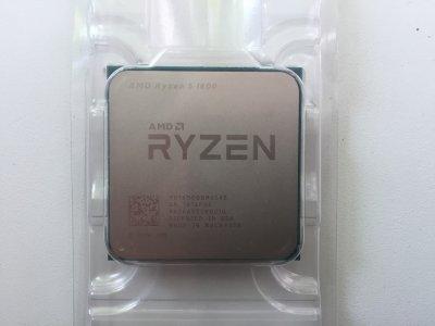 Процесор AMD Ryzen 5 1600 3.2-3.6 GHz (YD1600BBAEBOX) AM4 BOX