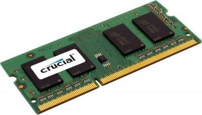 Модуль пам'яті SO-DIMM 4GB/1600 1,35 V DDR3L Crucial (CT51264BF160B) - Refubrished