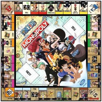 Настільна гра Winning Moves Monopoly One Piece (036948) (5036905036948)