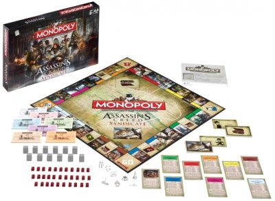 Настільна гра Winning Moves Monopoly Assassins Creed Syndicate (025768) (5036905025768)