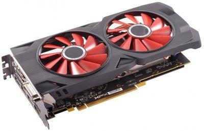XFX PCI-Ex Radeon RX 570 RS Black Edition 8GB GDDR5 (256bit) (1328/8000) (DVI, HDMI, 3 x DisplayPort) (RX-570P8DBD6)