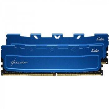 Модуль пам'яті для комп'ютера DDR4 32GB (2x16GB) 3000 MHz Blue Kudos eXceleram (EKBLUE4323021AD)