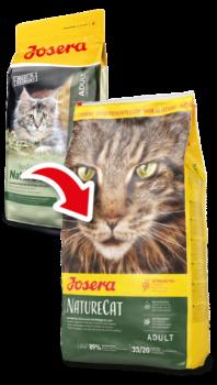 Сухой корм для котов Josera NatureCat
