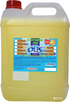 Жидкое мыло Olis Молоко и мед 5 л (4820021764554)