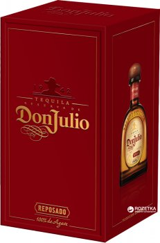 Текила Don Julio Reposado 0.7 л 38% (7506064300177)