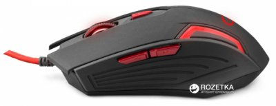 Миша Esperanza MX205 Fighter USB Black/Red (EGM205R)