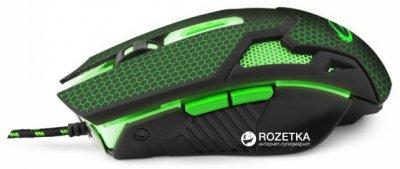 Миша Esperanza MX207 Cobra USB Black/Green (EGM207G)