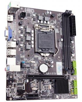 Материнська плата Jingsha H55 (s1156, Intel H55, PCI-Ex16)