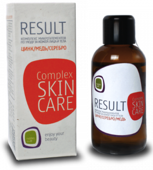 RESULT Skin Care - ОРГАНИЧЕСКОЕ СРЕДСТВО ДЛЯ ПРОБЛЕМНОЙ КОЖИ ЛИЦА БЕЗ СПИТРТА