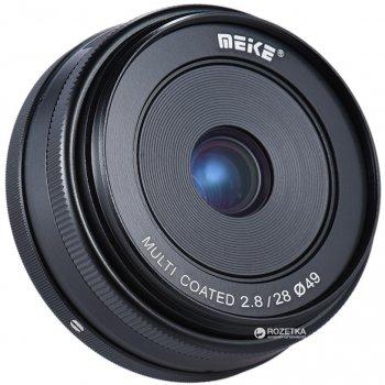 Meike 28mm f/2.8 MC E-mount для Sony (MKES2828)