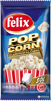 Попкорн Felix солоний 90 г (5900571051317)