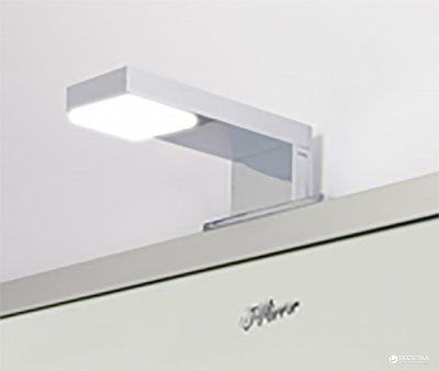 Зеркало J-MIRROR Alu 001 80х80 LED CONSOLE 03
