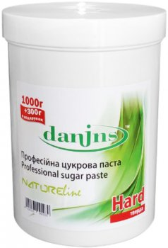 Цукрова паста для депіляції Danins Професійна Тверда 1300 г (4820191091030)