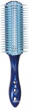 Щетка для укладки с ионизирующим эффектом Y.S.Park Professional T09 Straight Air Brush Blue (4981104352959)
