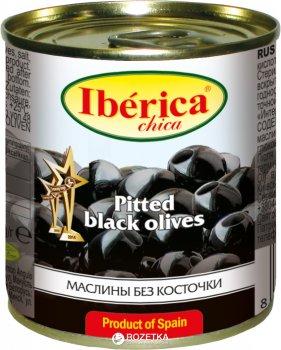 Маслины черные без косточки Iberica Chica 200 г (8436024290318)