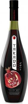 Вино Takado Гранат червоне десертне 0.7 л 11% (4820004924357)