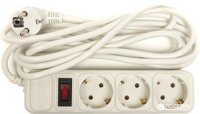 Сетевой фильтр PowerPlant 3 м 3 розетки (PPSA10M30S3)