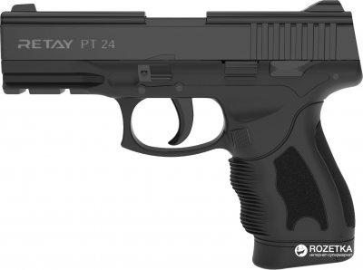 Стартовий пістолет Retay PT 24 9 мм Black (11950337)