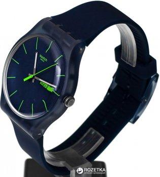 Мужские часы SWATCH Blue Rebel SUON700