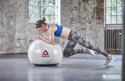 М'яч для фітнесу Reebok Studio 65 см Grey (RSB-16016)