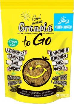 Гранола Good morning Granola to Go Финик + Кокос 140 г (4820192180115)