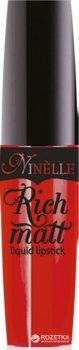 Рідка губна помада Ninelle Rich Matt 8 мл 31 (8435328109371)