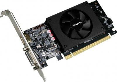 Gigabyte PCI-Ex GeForce GT 710 2048MB GDDR5 (64bit) (954/5010) (DVI, HDMI) (GV-N710D5-2GL)