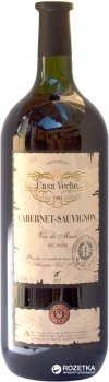 Вино Casa Veche Cabernet Sauvignon червоне сухе 1.5 л 9-11% (4840042005719)