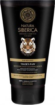Скраб для очищения лица Natura Siberica Men Восстанавливающий Лапа тигра 50 мл (4744183013766)