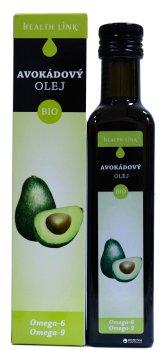 Олія авокадо Health Link органічна 250 мл (8594046600543)