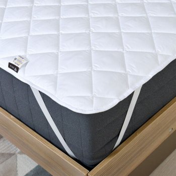 Наматрацник стьобаний IDEIA Home Collection Comfort 160х200 см Білий (4820182655371)
