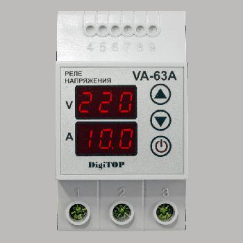 Реле напряжения/тока DigiTOP VA-63A