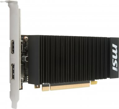 MSI PCI-Ex GeForce GT 1030 Low Profile OC 2GB GDDR5 (64bit) (1265/6008) (HDMI, DisplayPort) (GT 1030 2GH LP OC)