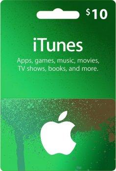 Подарункова карта iTunes Apple / App Store Gift Card 10 usd, US-регіон