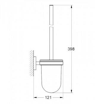 Туалетный ершик Grohe Essentials 40374001 (53387)
