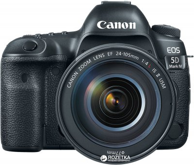Фотоапарат Canon EOS 5D Mark IV 24-105 L IS II USM Kit Black (1483C030) Офіційна гарантія!