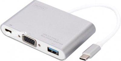 Адаптер Digitus USB Type-C - VGA (DA-70839)